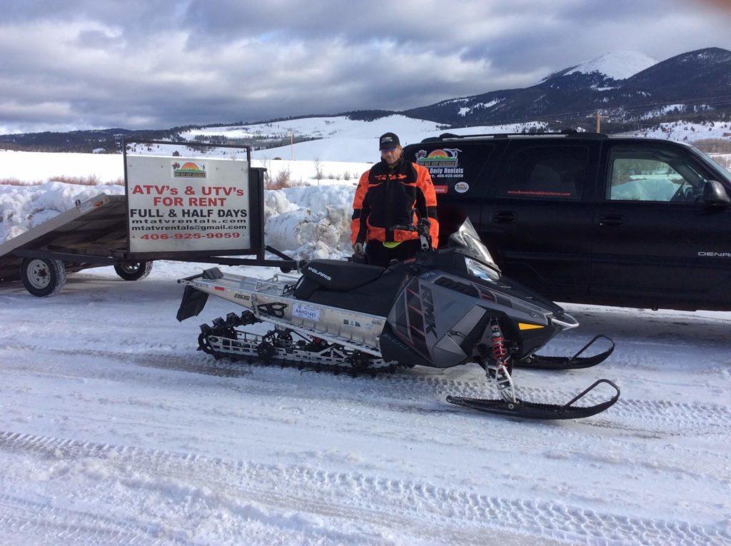Snowmobile Rentals, Dillon MT